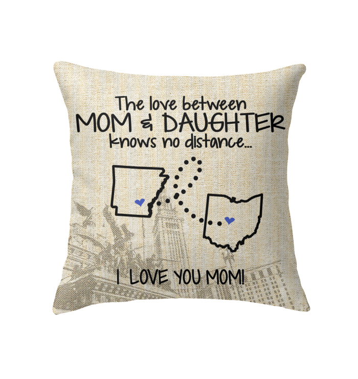 OHIO ARKANSAS THE LOVE MOM AND DAUGHTER KNOWS NO DISTANCE