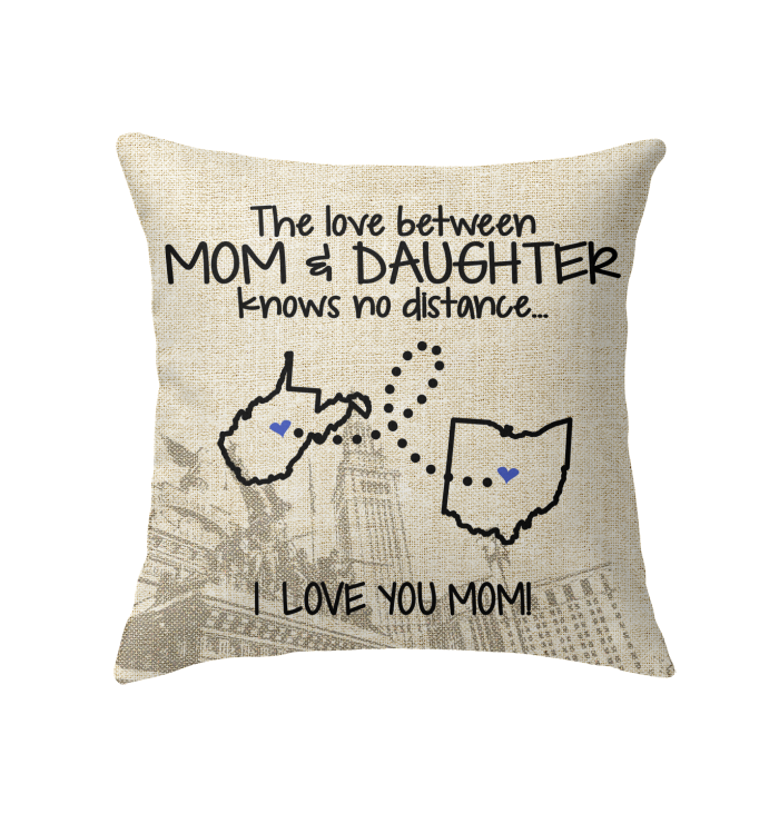 OHIO WEST VIRGINIA THE LOVE MOM AND DAUGHTER KNOWS NO DISTANCE