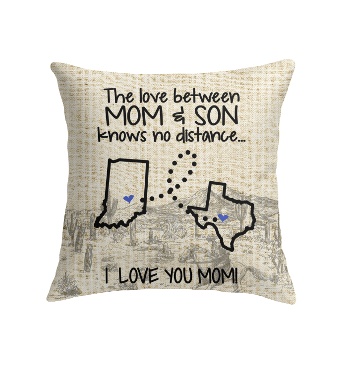 TEXAS INDIANA THE LOVE BETWEEN MOM AND SON