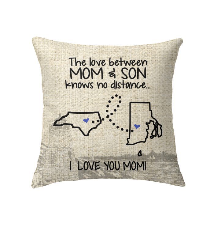RHODE ISLAND NORTH CAROLINA THE LOVE MOM AND SON KNOWS NO DISTANCE