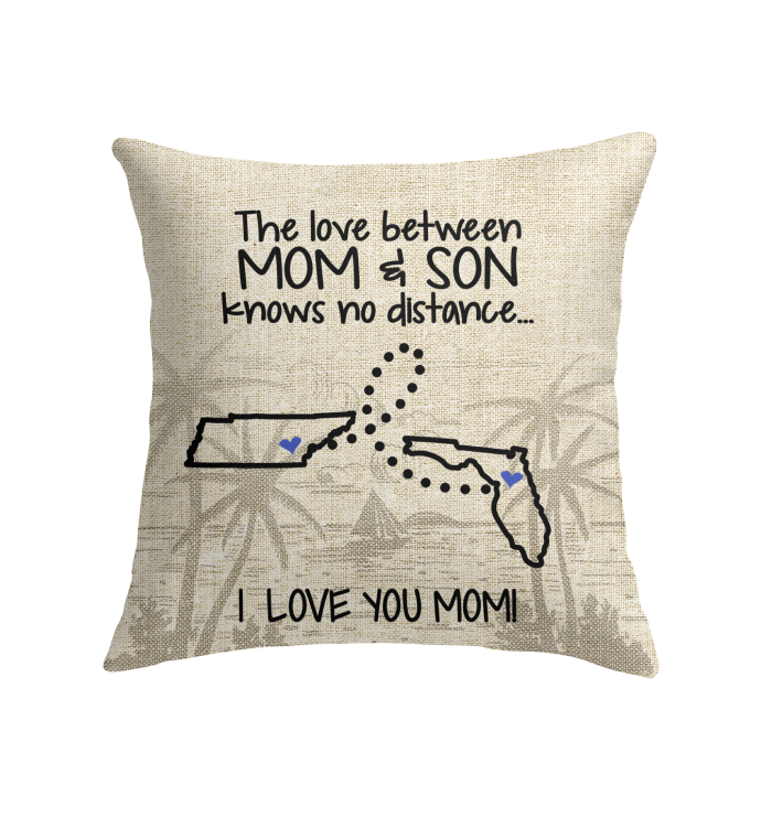 FLORIDA TENNESSEE THE LOVE MOM AND SON KNOWS NO DISTANCE