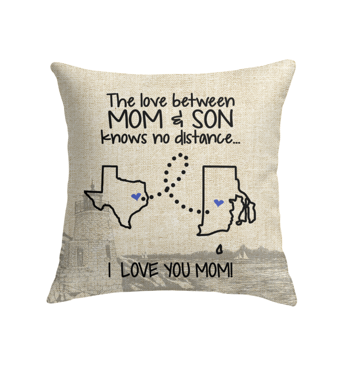 RHODE ISLAND TEXAS THE LOVE MOM AND SON KNOWS NO DISTANCE