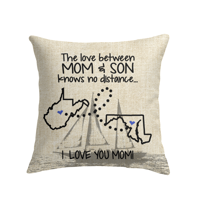 MARYLAND WEST VIRGINIA THE LOVE MOM AND SON KNOWS NO DISTANCE