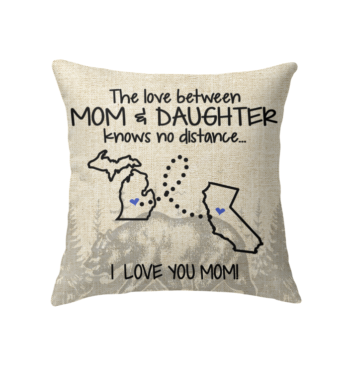 CALIFORNIA MICHIGAN THE LOVE BETWEEN MOM AND DAUGHTER