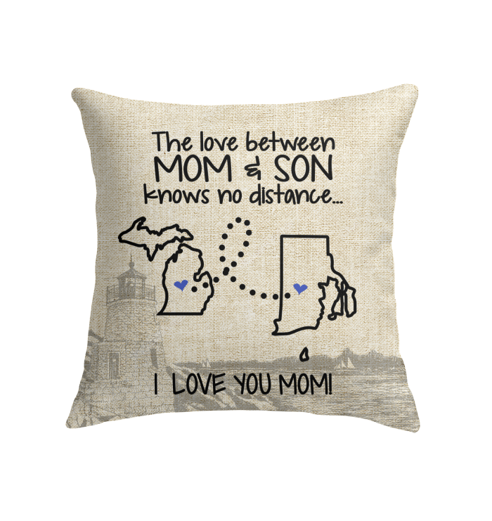 RHODE ISLAND MICHIGAN THE LOVE MOM AND SON KNOWS NO DISTANCE