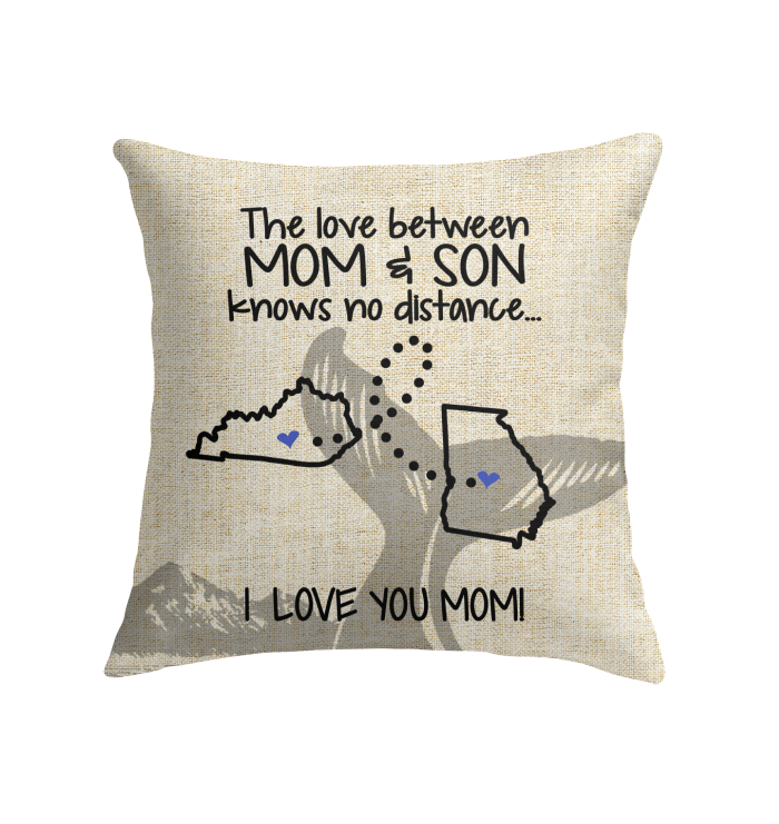 GEORGIA KENTUCKY THE LOVE MOM AND SON KNOWS NO DISTANCE
