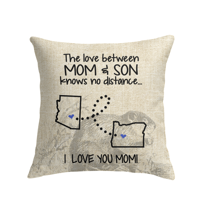 OREGON ARIZONA THE LOVE MOM AND SON KNOWS NO DISTANCE