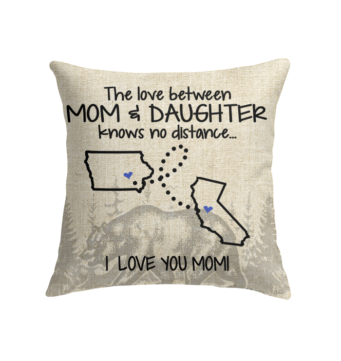 CALIFORNIA IOWA THE LOVE BETWEEN MOM AND DAUGHTER