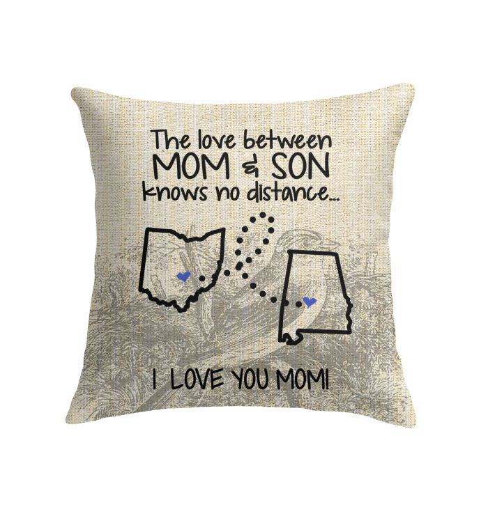 ALABAMA OHIO THE LOVE MOM AND SON KNOWS NO DISTANCE