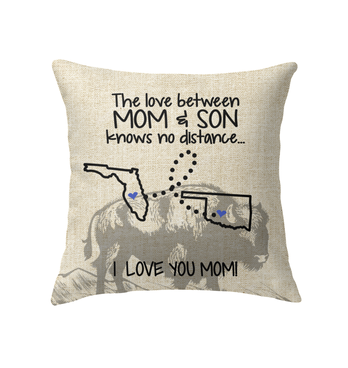 OKLAHOMA FLORIDA THE LOVE MOM AND SON KNOWS NO DISTANCE