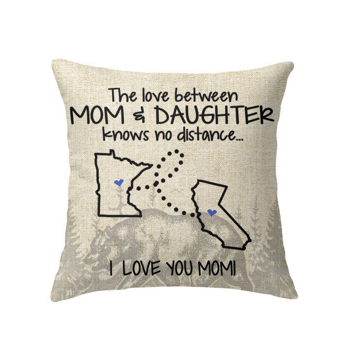 CALIFORNIA MINNESOTA THE LOVE BETWEEN MOM AND DAUGHTER