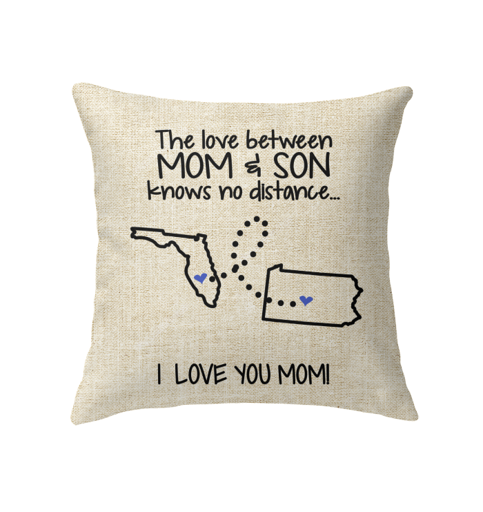 PENNSYLVANIA FLORIDA THE LOVE MOM AND SON KNOWS NO DISTANCE