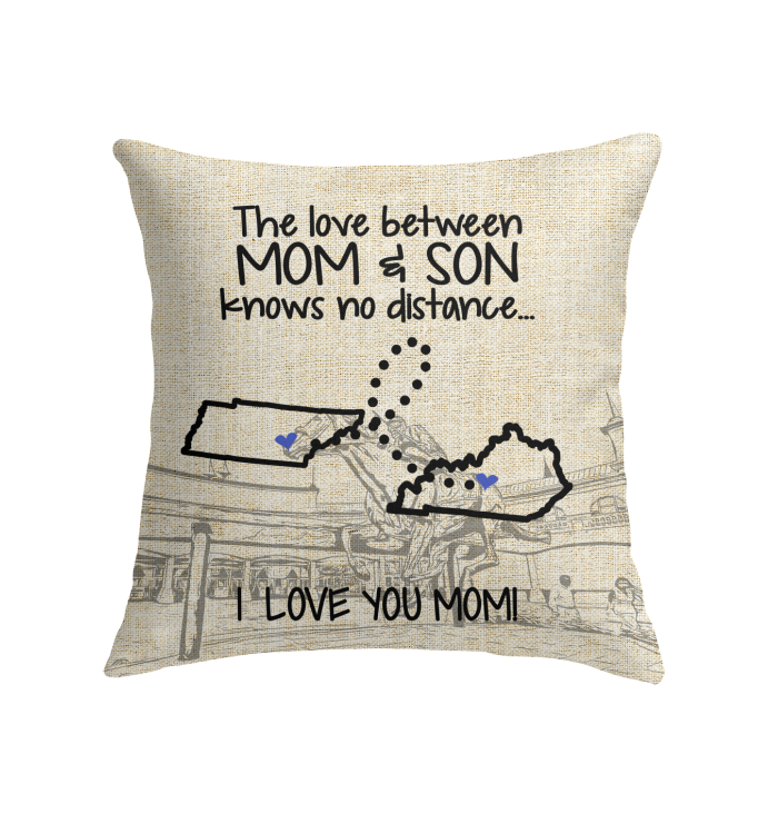 KENTUCKY TENNESSEE THE LOVE MOM AND SON KNOWS NO DISTANCE