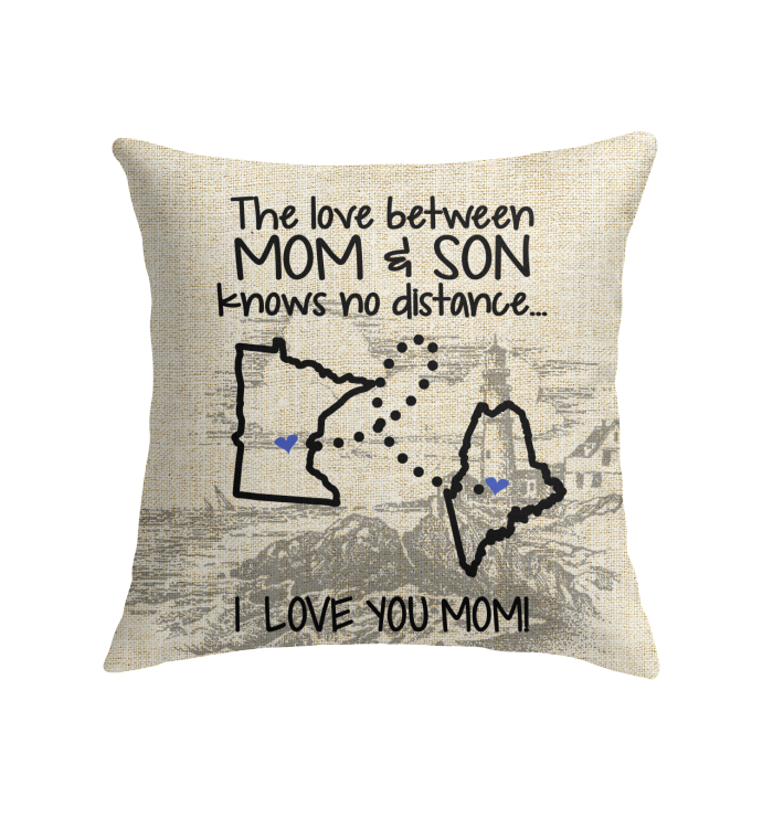 MAINE MINNESOTA THE LOVE BETWEEN MOM AND SON
