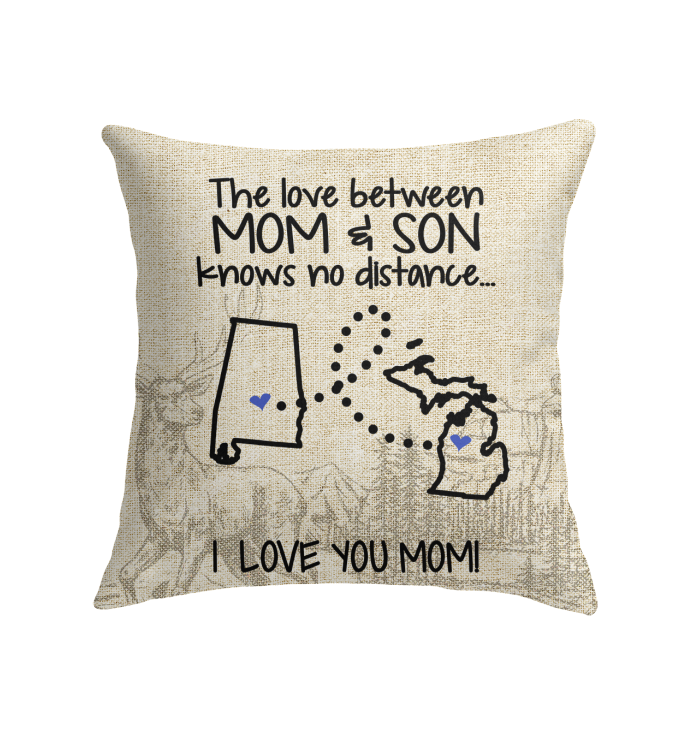 MICHIGAN ALABAMA THE LOVE BETWEEN MOM AND SON
