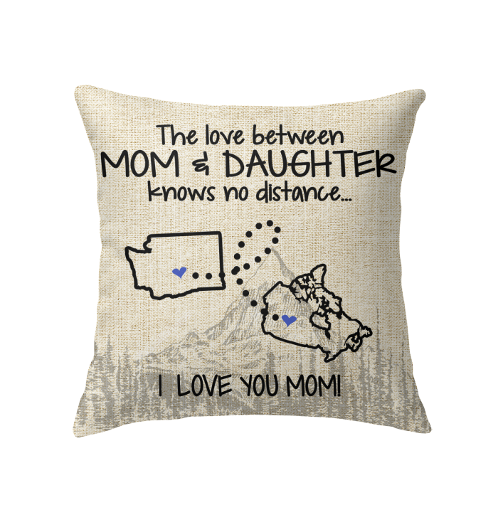 CANADA WASHINGTON THE LOVE BETWEEN MOM AND DAUGHTER