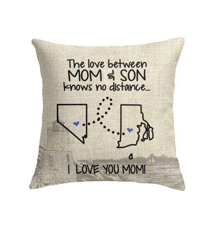 RHODE ISLAND NEVADA THE LOVE MOM AND SON KNOWS NO DISTANCE