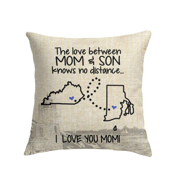RHODE ISLAND KENTUCKY THE LOVE MOM AND SON KNOWS NO DISTANCE