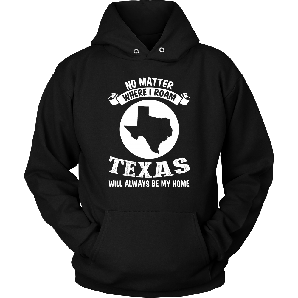 TEXAS WILL ALWAYS BE MY HOME - T-shirt Teezalo LLC