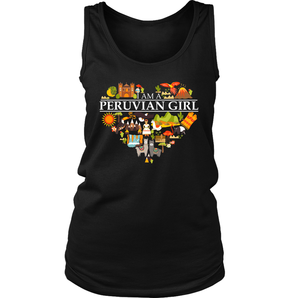 I Am A Peruvian Girl T-Shirt