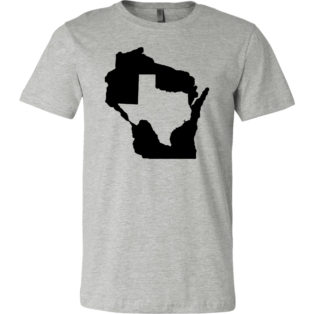 Living In Wisconsin And You're From Texas T- Shirt
