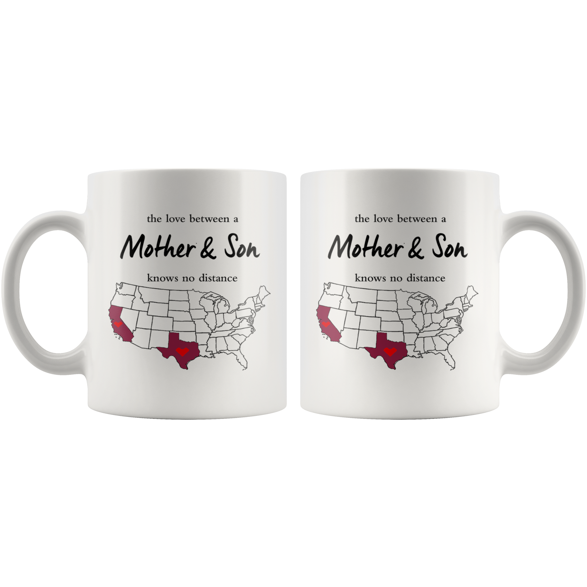 Texas California The Love Between A Mother And Son Knows No Distance