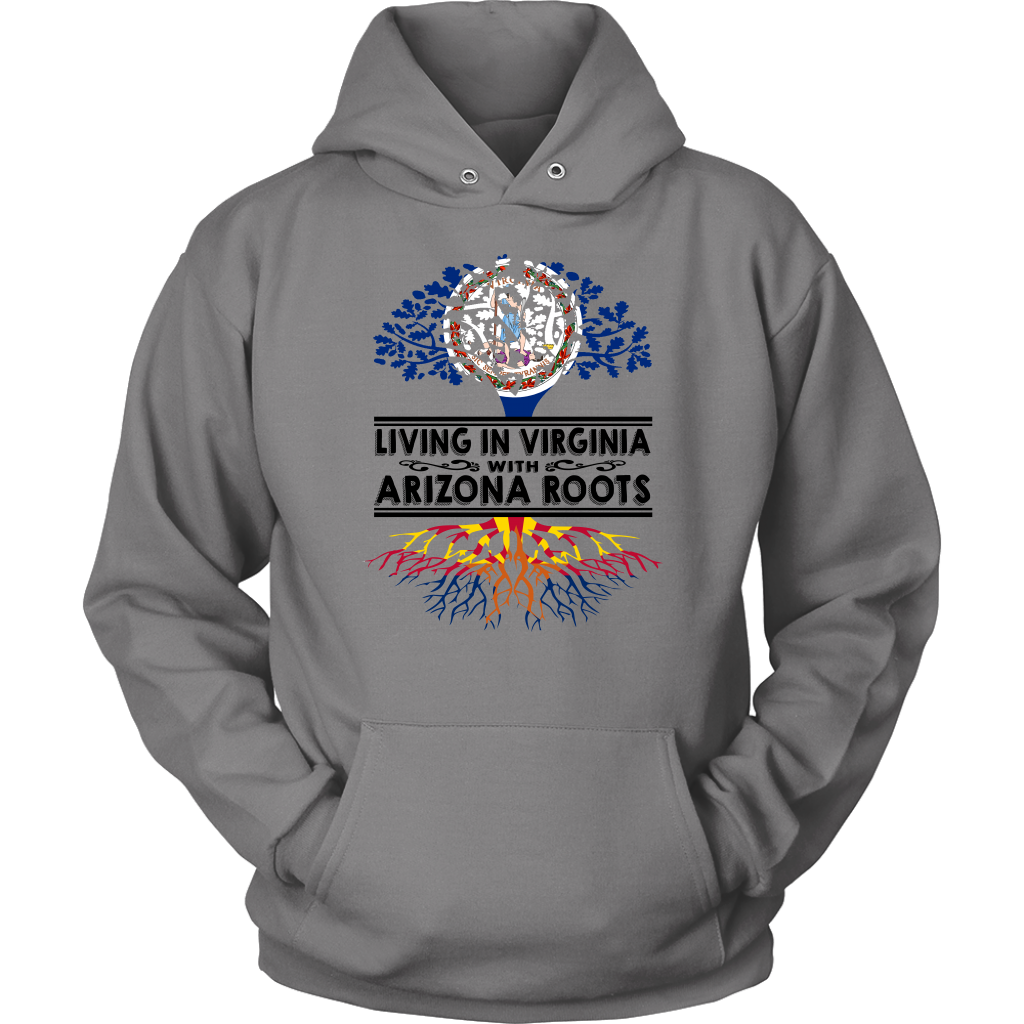 Living In Virginia With Arizona Roots T-Shirt