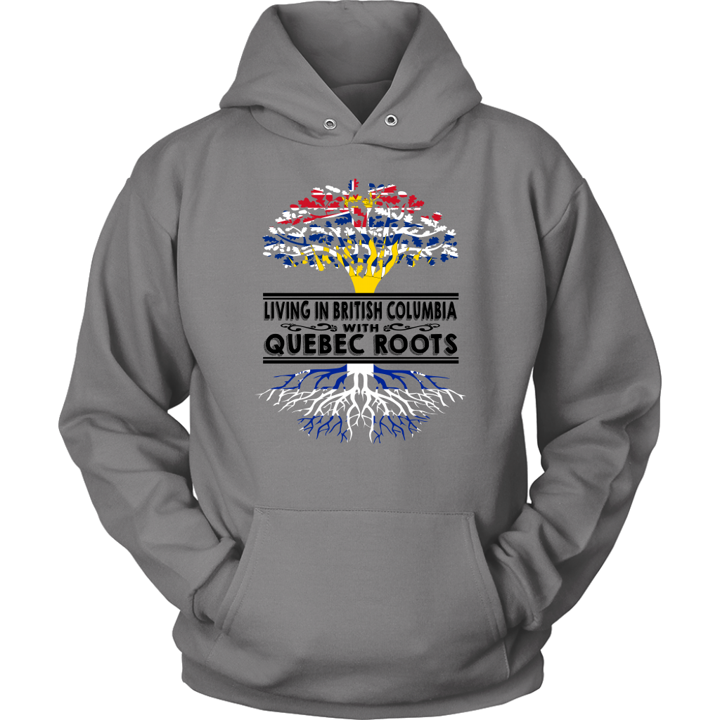LIVING IN BRITISH COLUMBIA WITH QUEBEC ROOTS