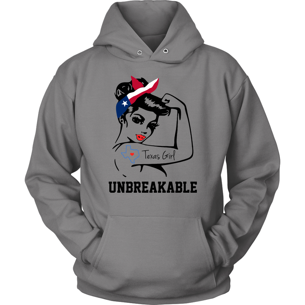 Texas Girl Unbreakable T- Shirt