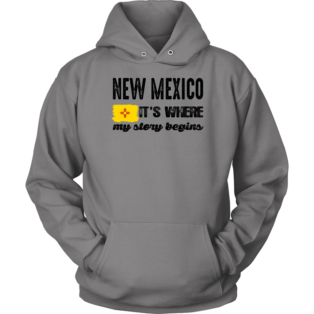 NEW MEXICO IT'S WHERE MY STORY BEGINS