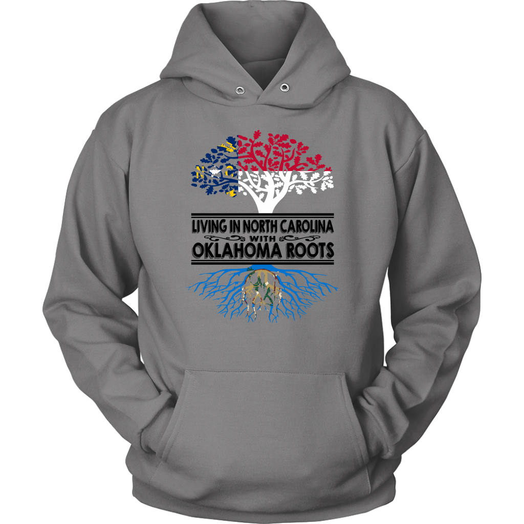Living In North Carolina With Oklahoma Roots T-Shirt