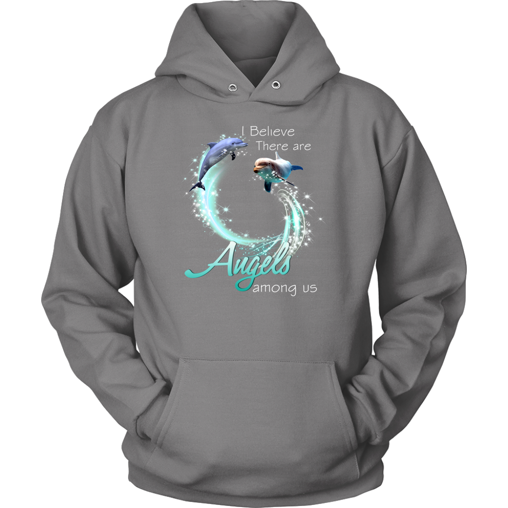 I Believe Dolphins Are Angels Among Us T-Shirt