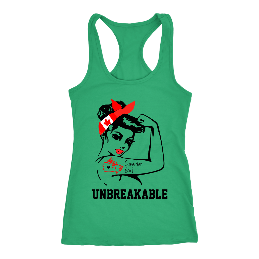 Canadian Girl Unbreakable T-Shirt