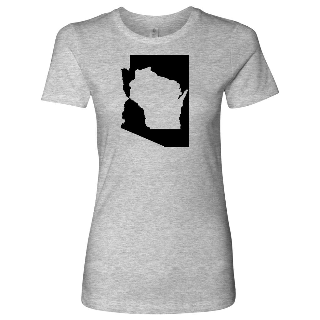 Living In Arizona And You're From Wisconsin T-shirt