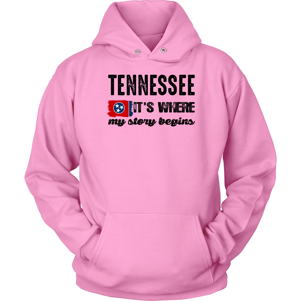 Tennessee It's Where My Story Begins T Shirt