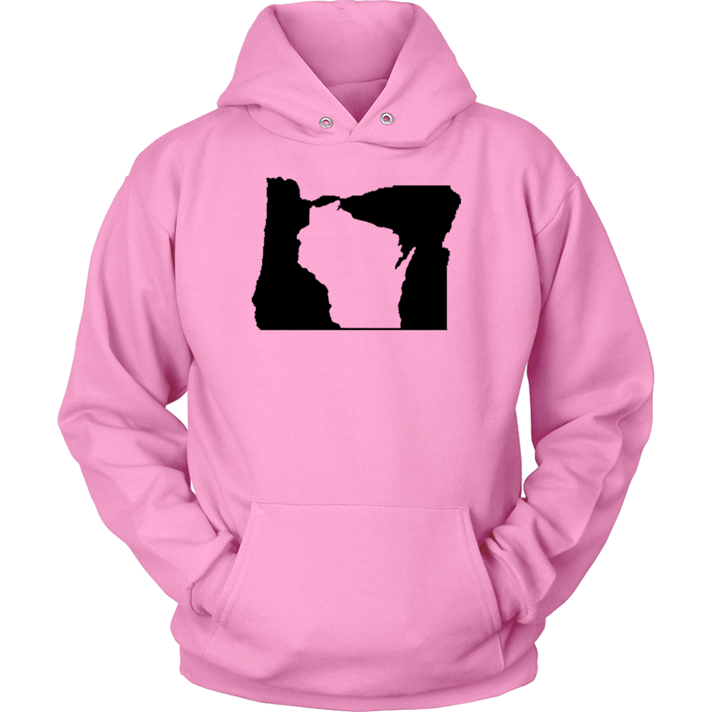 Living In Oregon And You're From Wisconsin T-shirt