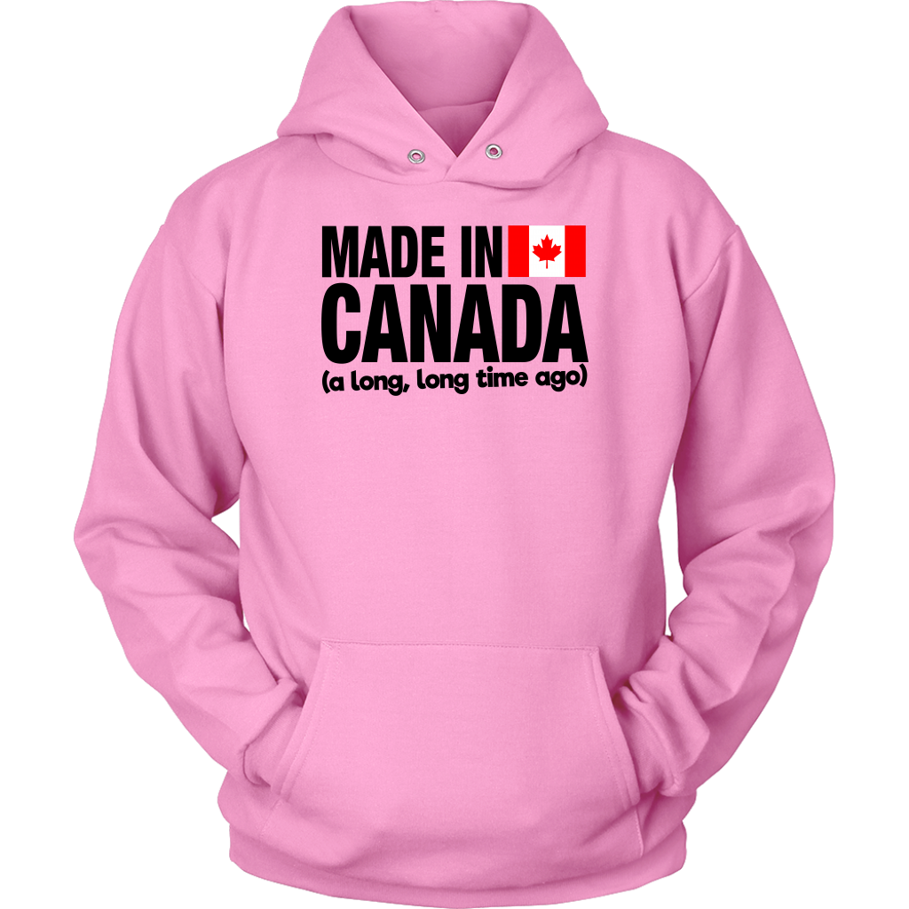 MADE IN CANADA A LONG LONG TIME AGO