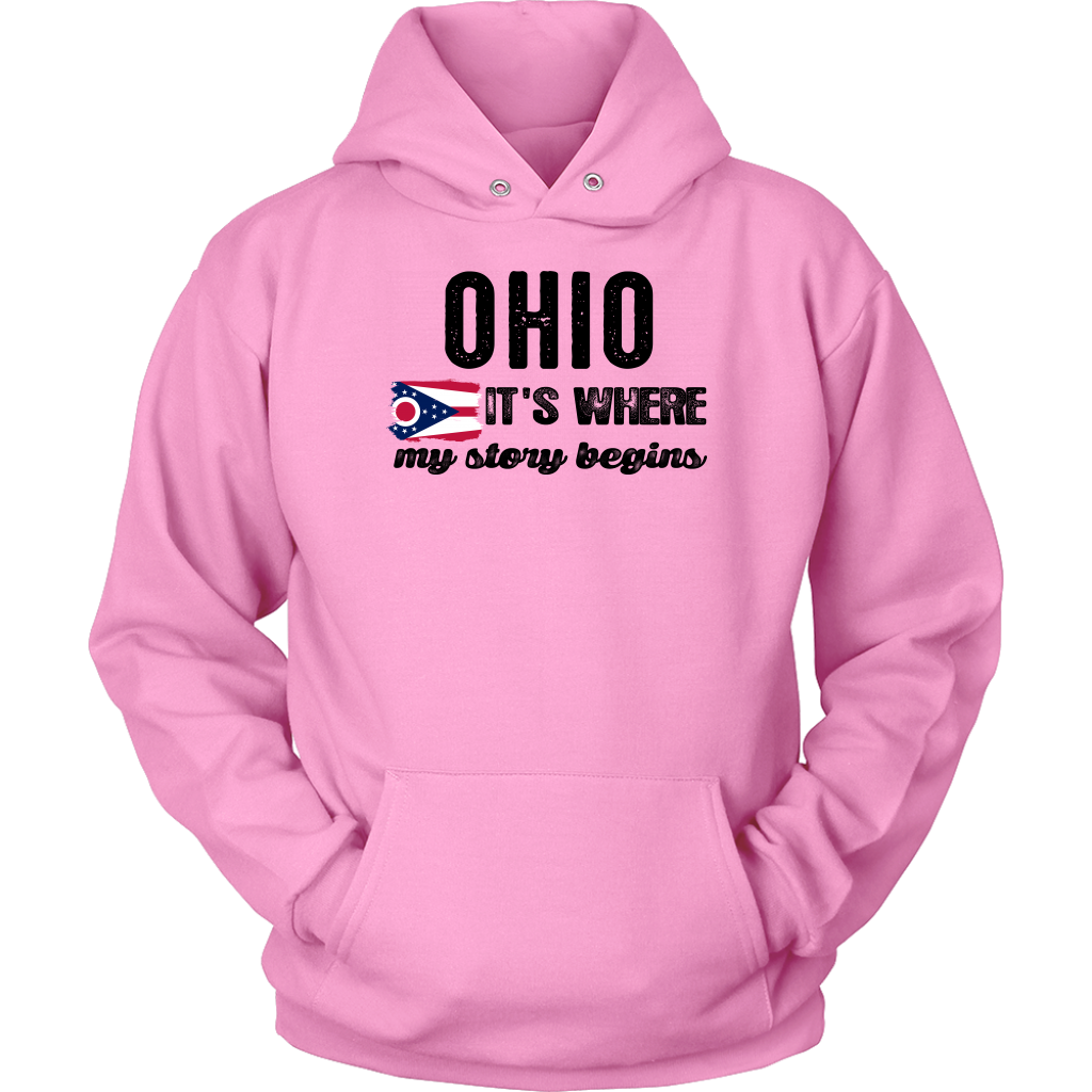 Ohio It's Where My Story Begins T-Shirt