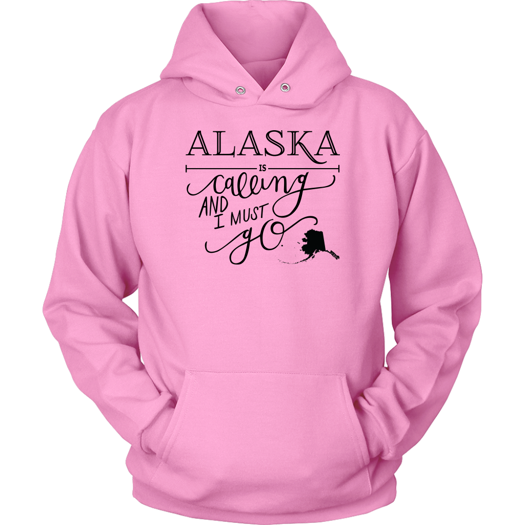 ALASKA IS CALLING AND I MUST GO