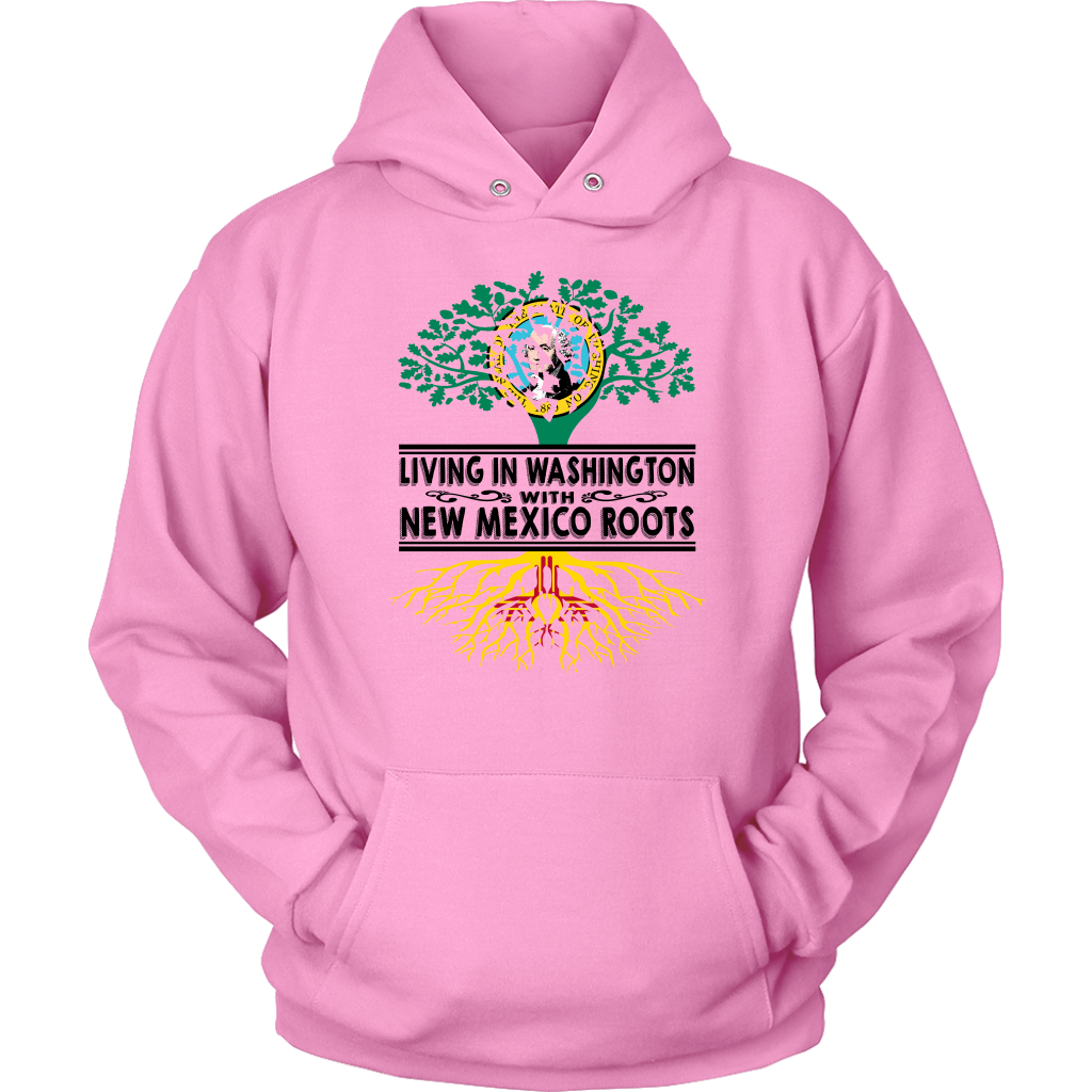 Living In Washington With New Mexico Roots T-Shirt