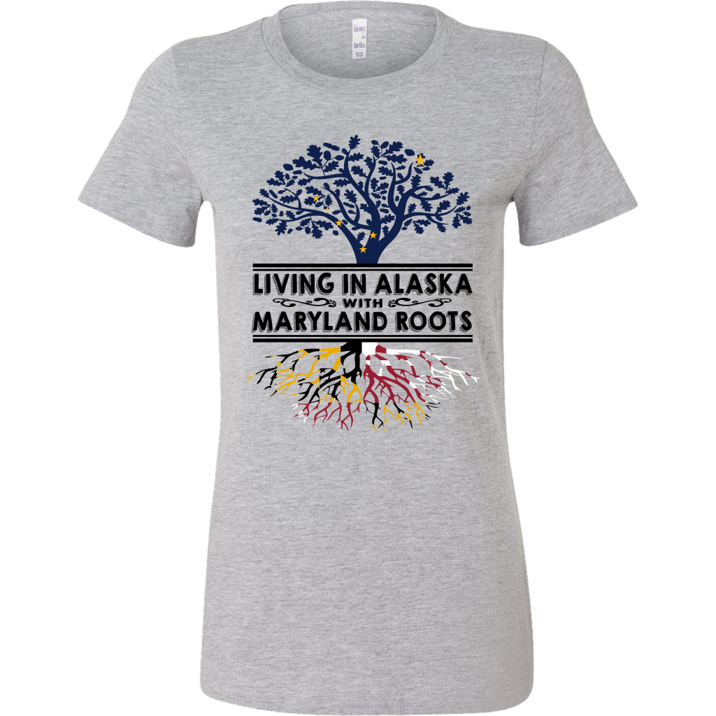 Living In Alaska With Maryland Roots T-Shirt