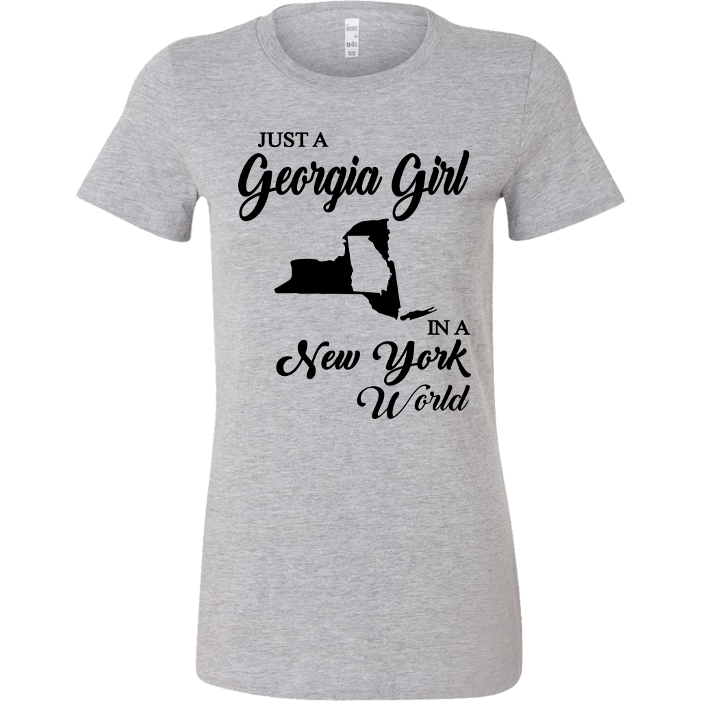 Just A Georgia Girl In A New York World T-Shirt