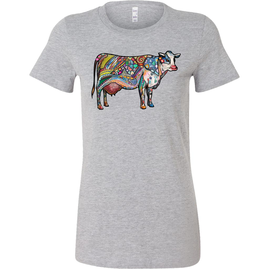 Cow Zentangle Art T-Shirt