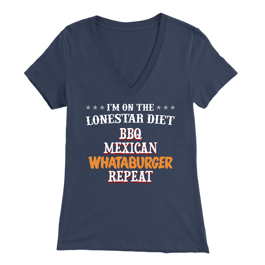 Texas Bbq Mexican Whatabuger Repeat T- Shirt