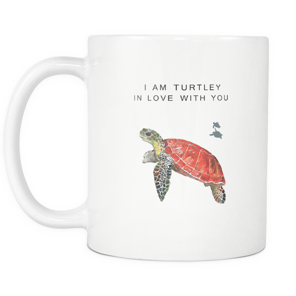 I'm Turtley In Love With You Mug - Drinkware Teezalo LLC