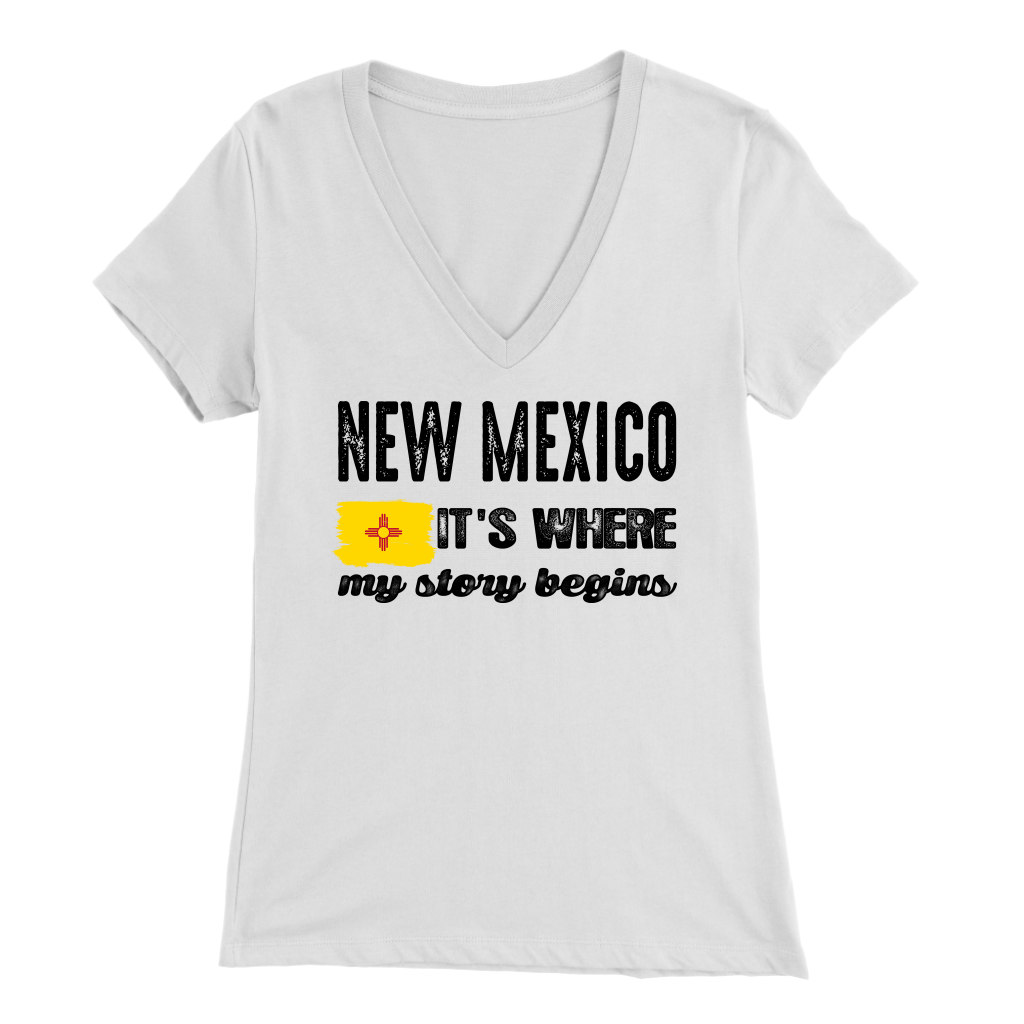 New Mexico It's Where My Story Begins T-Shirt
