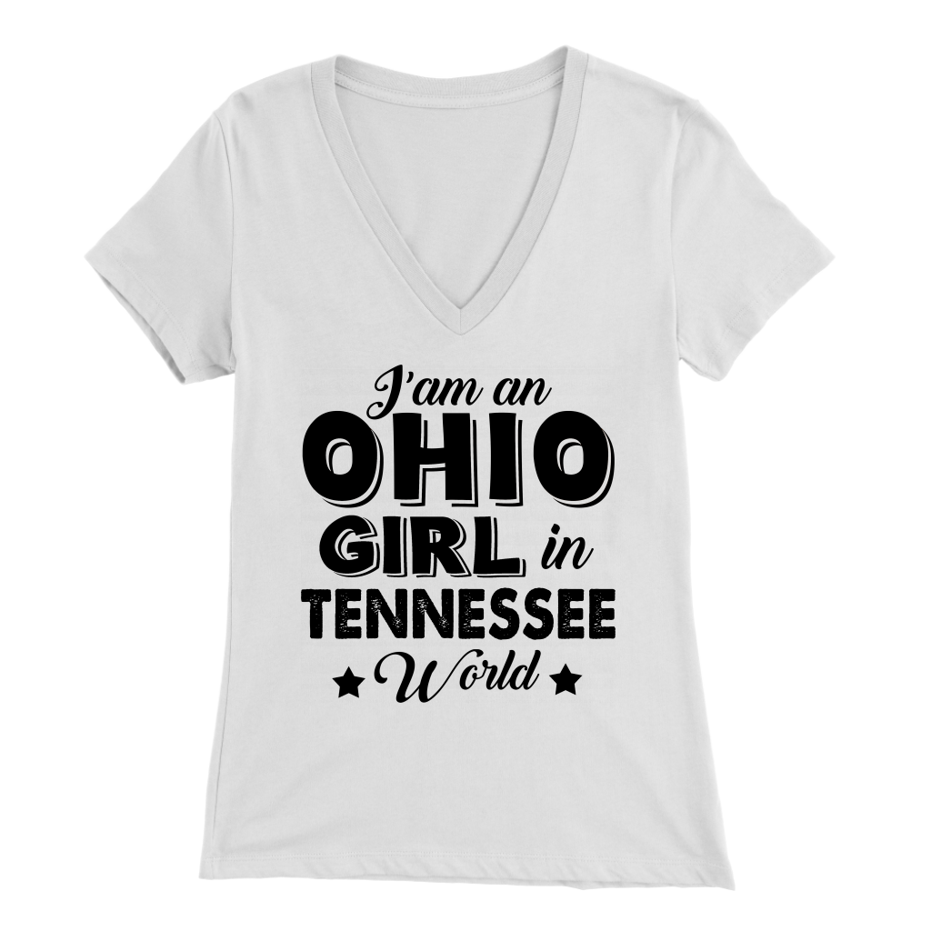 I'm An Ohio Girl In Tennessee World T-Shirt