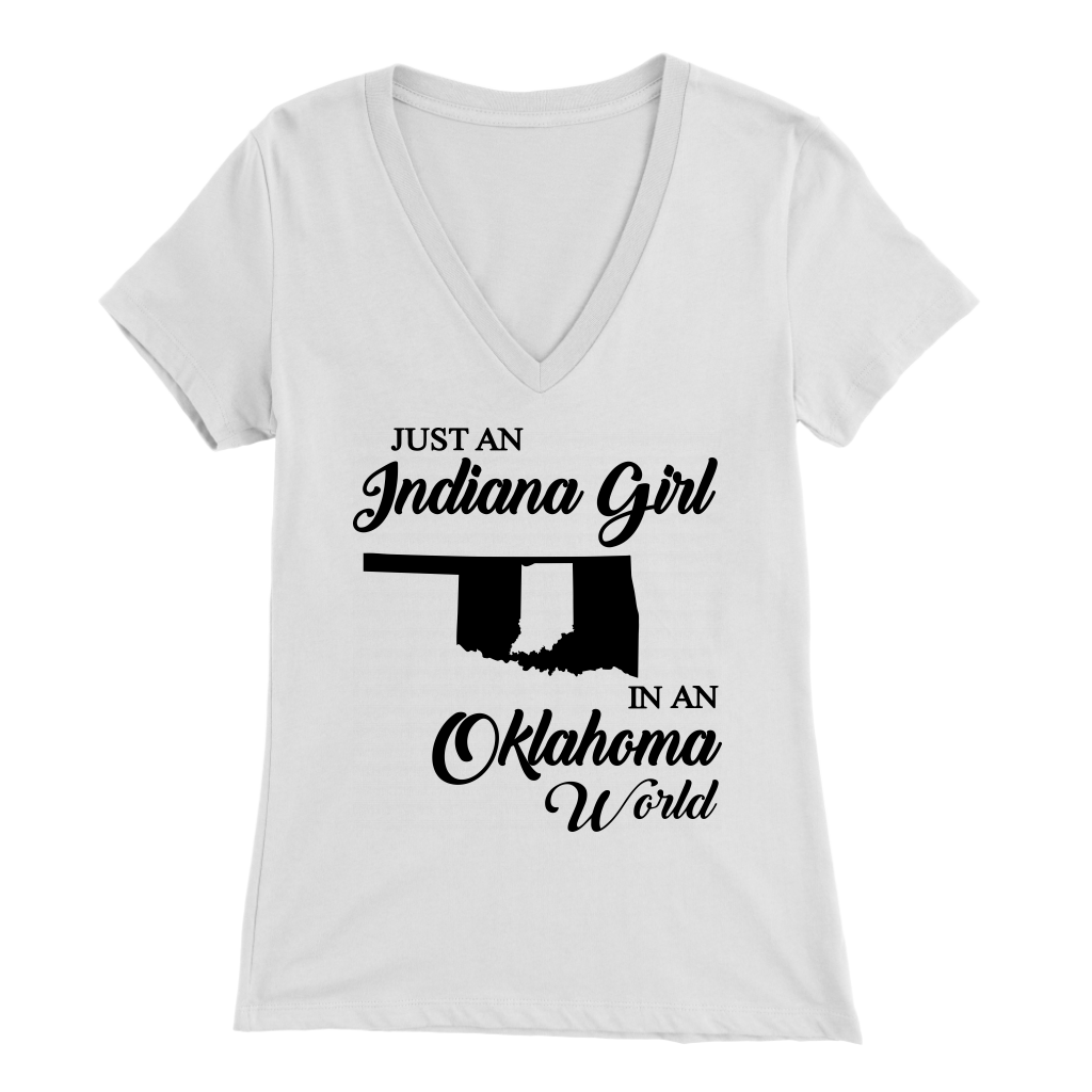 JUST AN INDIANA GIRL IN AN OKLAHOMA WORLD