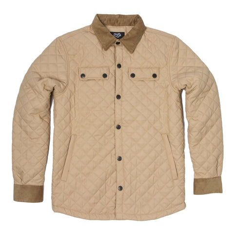 Quilted Button-Up