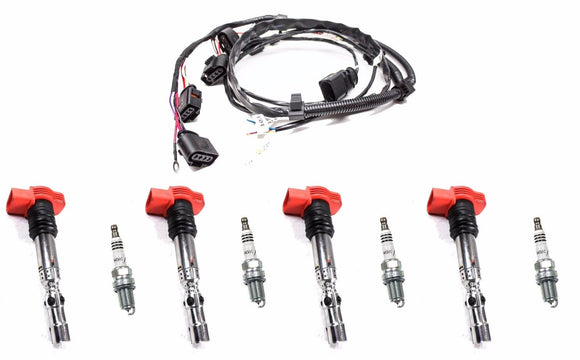 1.8T OEM  Ignition Coil Pack Complete Service Kit V3 - VW/AUDI *USA STOCK* Carrot Top Tuning